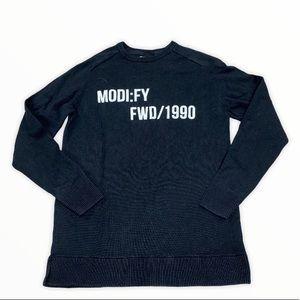 Core By Jack & Jones Black Sweater Size Large